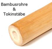 Informationen zu Bambusrohren, Bambusstangen und Tonknstäben